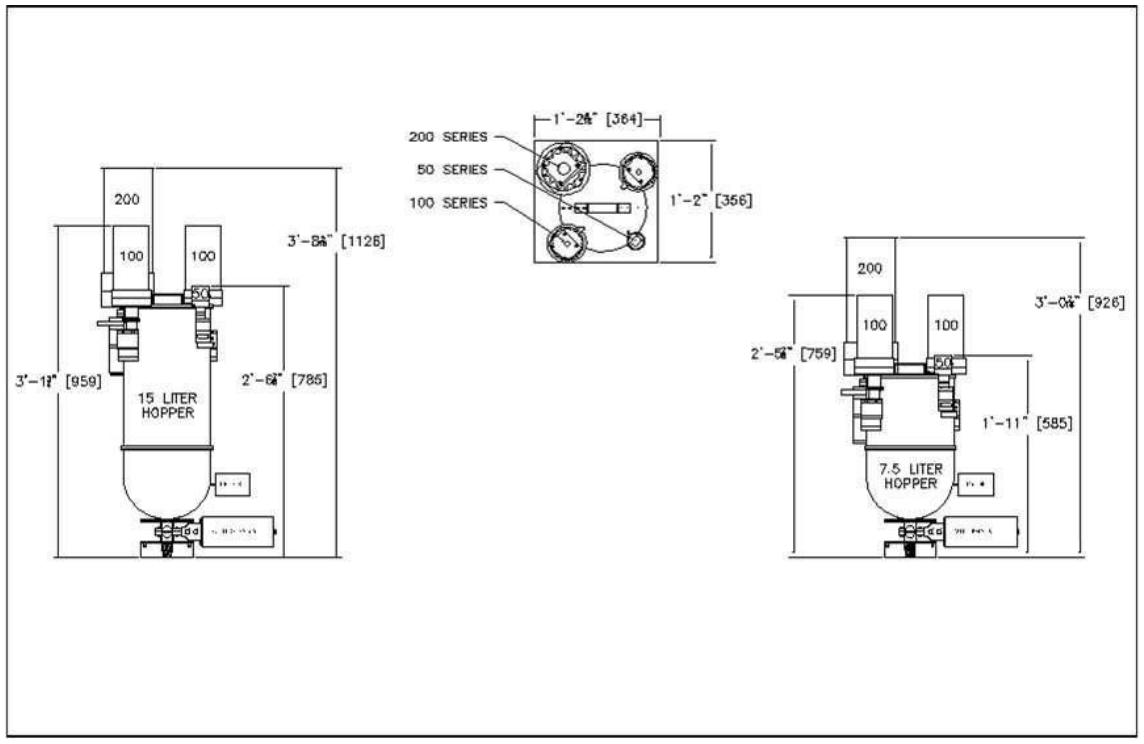 MBB - MBB-R Batch Blender-drawing