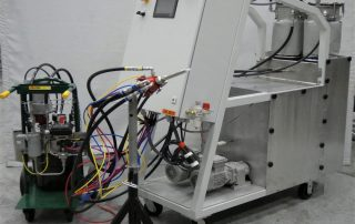 Mahr USA 2 Part Meter Mix Plus Heat and Color Injection System for Polyurethane Pultrusion_Feature
