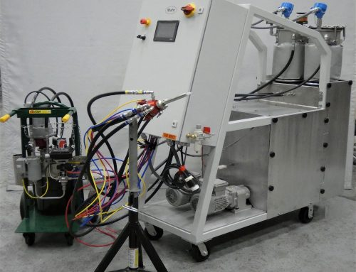 Mahr USA Creates 2-Part Meter Mix Plus Heat & Color Injection System for Polyurethane Pultrusion