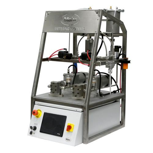 Mahr 2 Part Meter Mix Dispense MiniMax Lab Scale